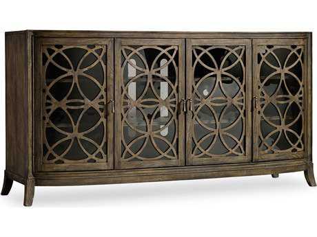 Hooker Furniture Melange Medium Wood 70''L x 20''W Rectangular Entertainment Console