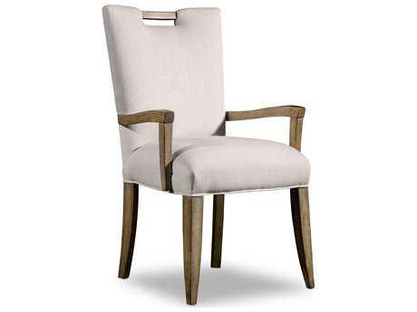 Hooker Furniture Melange Barrett Medium Wood Dining Arm Chair