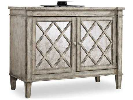 Hooker Furniture Melange Light Wood 44''W x 20''D Villa Blanca Accent Chest