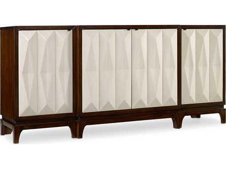 Hooker Furniture Melange Dark Wood 78''L x 20''W Traviata Credenza Console