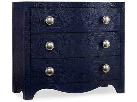 Hooker Furniture Melange Midnight blue 38''W x 18''D Nile Accent Chest