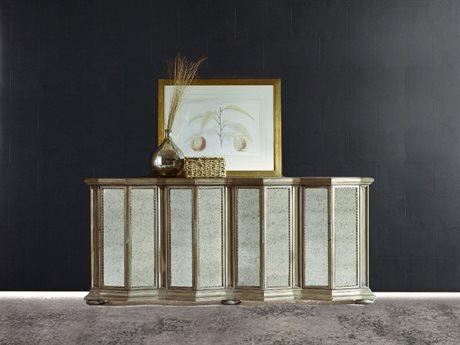 Hooker Furniture Melange Gold 87''L x 21''W Rectangular Majesty Credenza Buffet