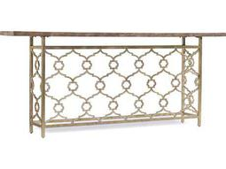Melange Silver 82''L x 14''W Rectangular Landon Hall Console Table