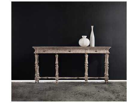 Hooker Furniture Melange Light Wood 72''L x 16''W Rectangular Farrell Console Table