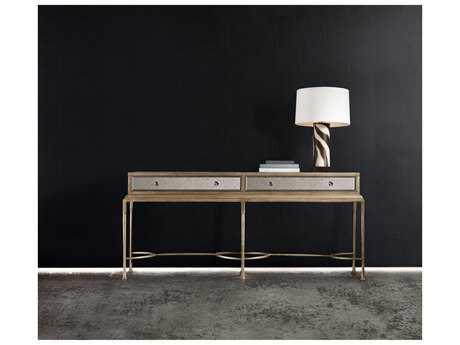 Hooker Furniture Melange Gold 76''L x 19''W Rectangular Reflections Console Table