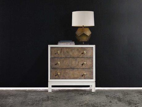 Hooker Furniture Melange White, Cream & Beige 36''W x 19''D Keaton Accent Chest