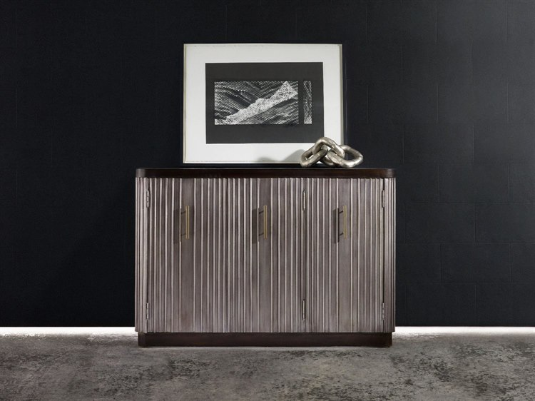 Hooker Furniture Melange Silver 48 L X 18 W Rectangular