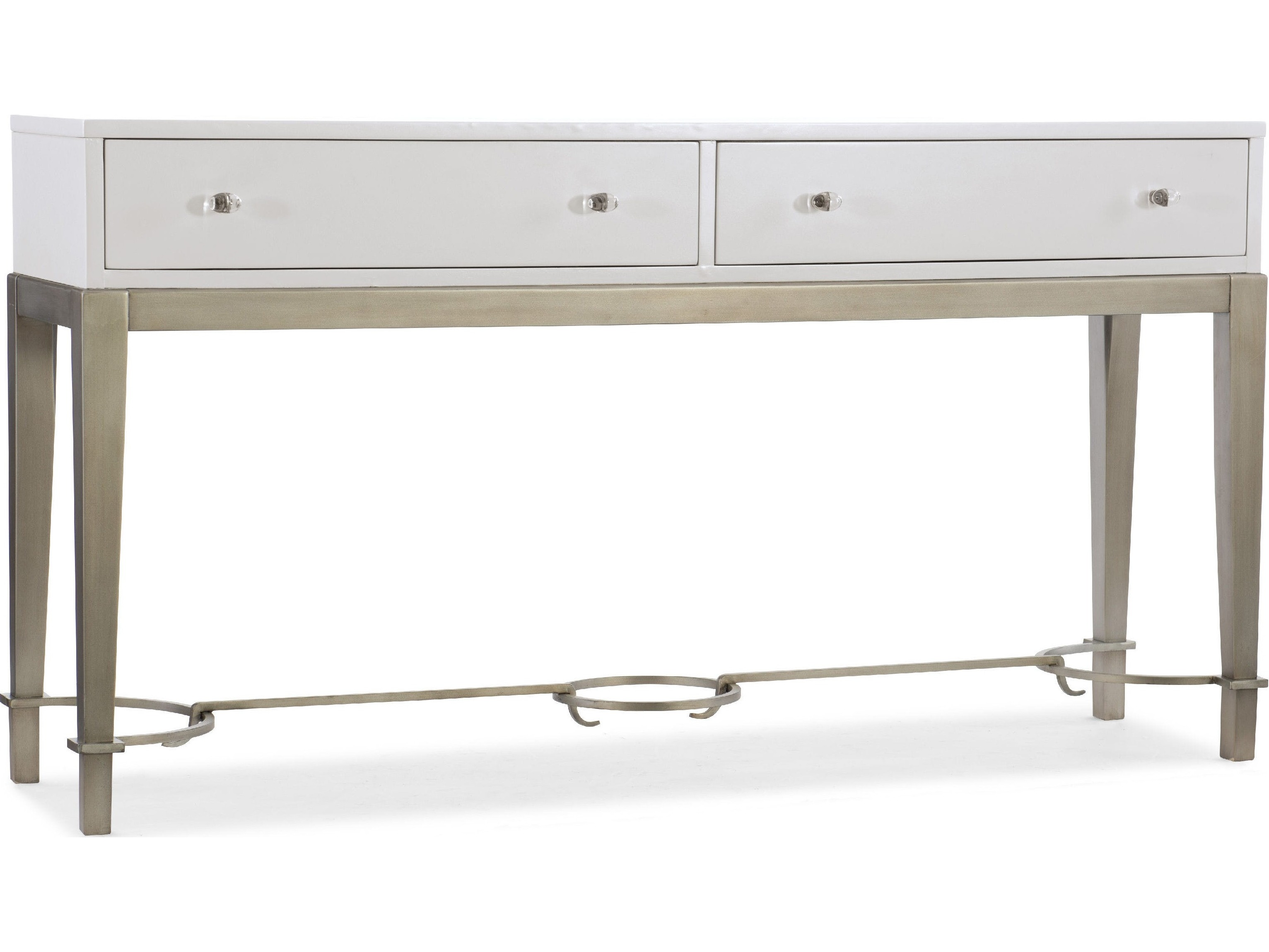 Hooker furniture melange lady in white 65 39 39 l x 17 39 39 w for 65 sofa table