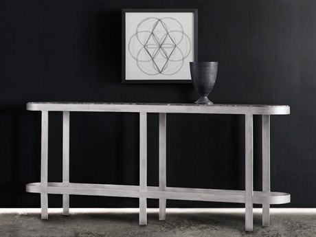 Hooker Furniture Melange Silver 76''L x 12''W Rectangular Wren Console Table