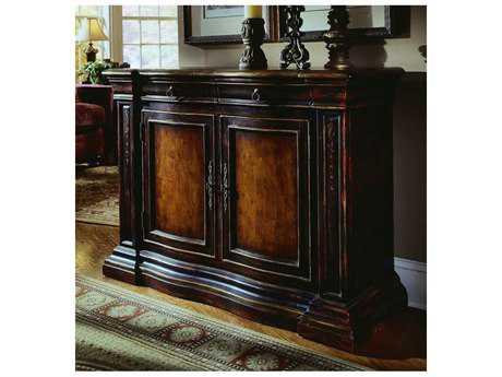 Hooker Furniture Black 48''L x 18''W Rectangular Console Table