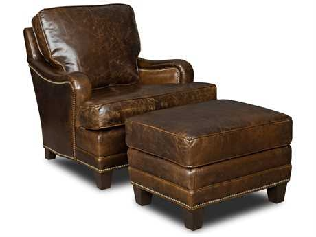 Hooker Furniture Covington Parish Chair and Ottoman Set