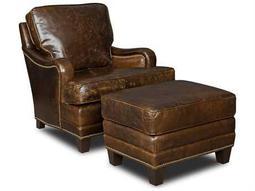Hooker Furniture Covington Parish Chair and Ottoman Set