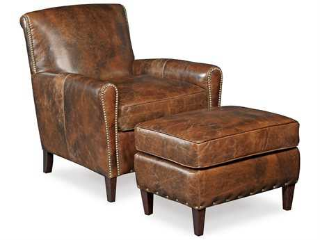 Hooker Furniture Imperial Empire Chair and Ottoman Set