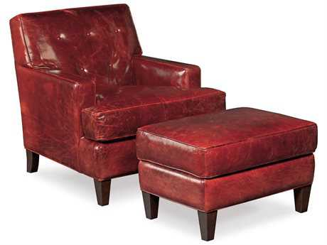 Hooker Furniture Covington Bogue Chair and Ottoman Set