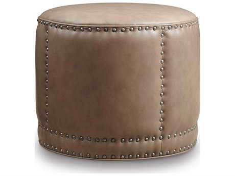 Hooker Furniture Aspen Lenado Round Cocktail Ottoman