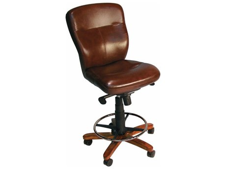 Hooker Furniture Zeb Tall Tilt with Medium Wood Swivel Computer Chair