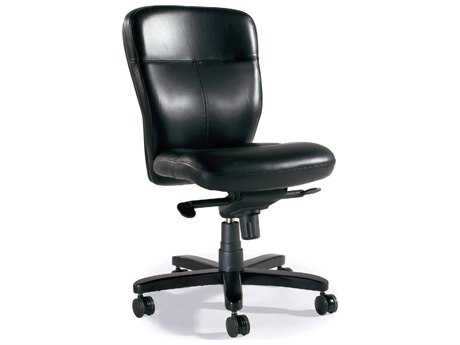 Hooker Furniture Karma Chance Black Executive Swivel Tilt Chair