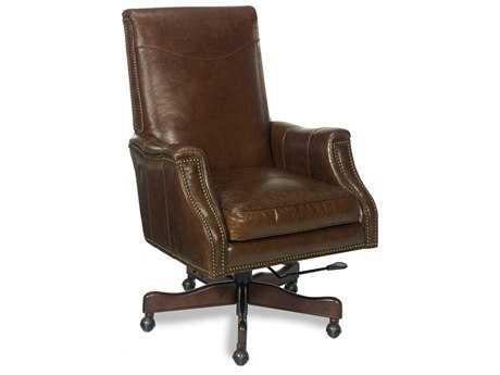 Hooker Furniture Kerala Periyar Dark Wood ExecutiveChair