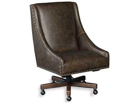 Hooker Furniture Bronx Fudge Natchez Brown Executive Chair