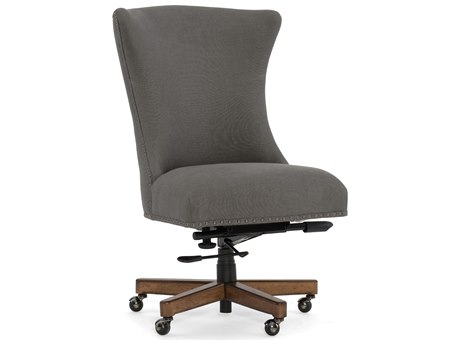 Hooker Furniture Lynn Evere Graphite with Medium Wood Executive Chair