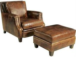 Hooker Furniture Parthenon Temple-85 Chair and Ottoman Set