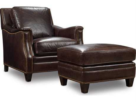 Hooker Furniture Huntington Colleis Chair and Ottoman Set