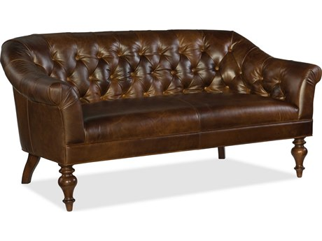 Hooker Furniture Frasier Irreverent Chestnut Settee
