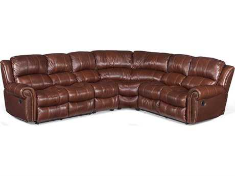 Hooker Furniture Cognac 4-Piece Sectional Sofa