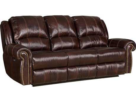 Hooker Furniture Saddle Brown Power Motion Sofa