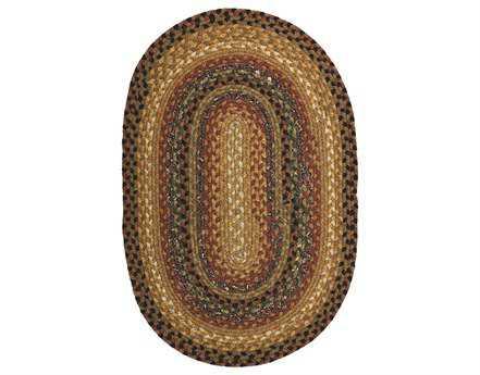 Homespice Decor Cotton Braided Peppercorn Beige Area Rug