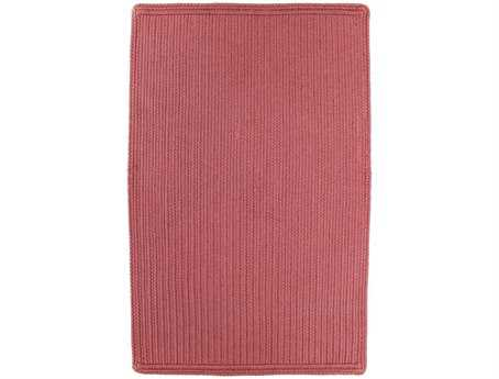 Homespice Decor Ultra Durable Slims Braided Rectangular Pink Area Rug