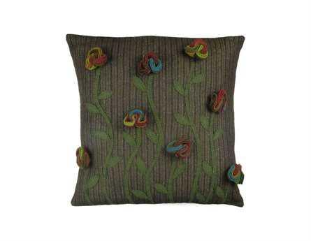 Homespice Decor Poppy Pillow
