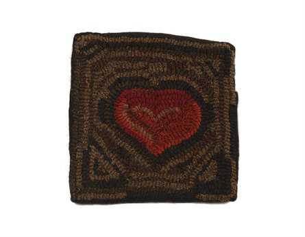 Homespice Decor Primitive Heart Pillow