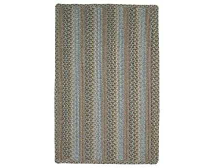 Homespice Decor Ultra Durable Slims Braided Rectangular Brown Area Rug