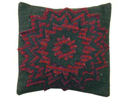 Homespice Decor Starburst Pillow