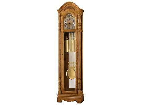 Howard Miller Parson Golden Oak Floor Clock