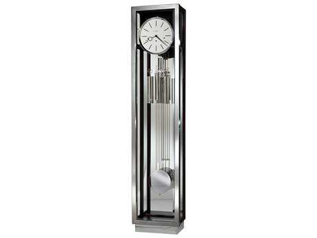 Howard Miller Quinten II Satin Black Floor Clock
