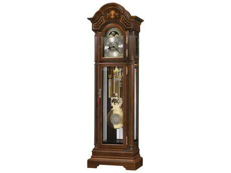 Howard Miller Harding Cherry Bordeaux Floor Clock