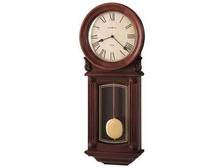 Howard Miller Isabel Windsor Cherry Chiming Wall Clock