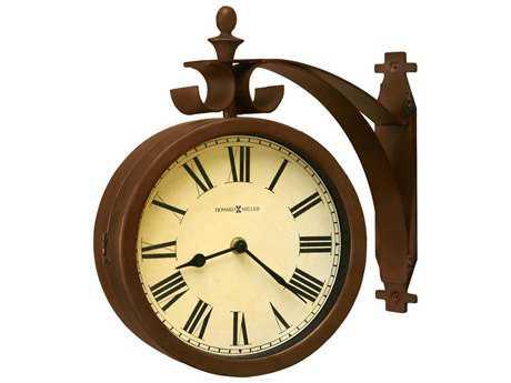 Howard Miller O'Brien Rich Brown Wall Clock