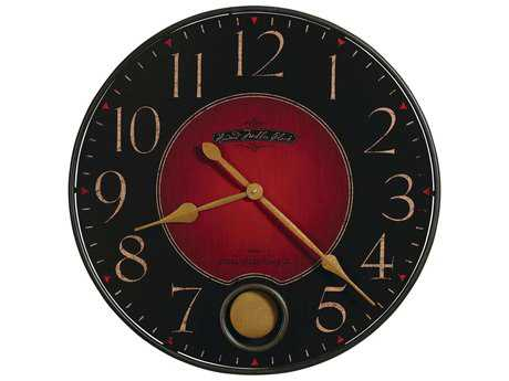 Howard Miller Harmon Wrought Iron Oversized Gallery Wall Clock