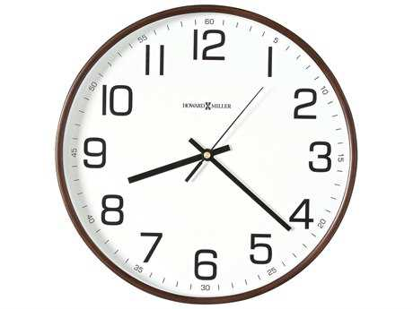 Howard Miller Kenton Espresso Wall Clock
