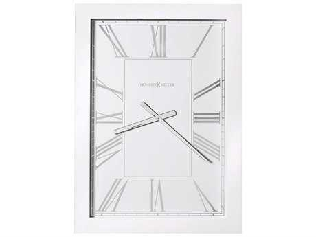 Howard Miller Milo Gloss White Oversized Gallery Wall Clock