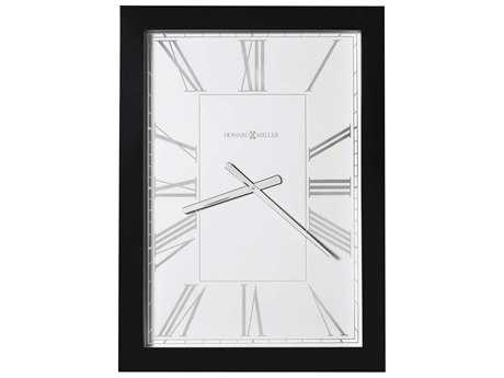Howard Miller Milo II Gloss Black Oversized Gallery Wall Clock