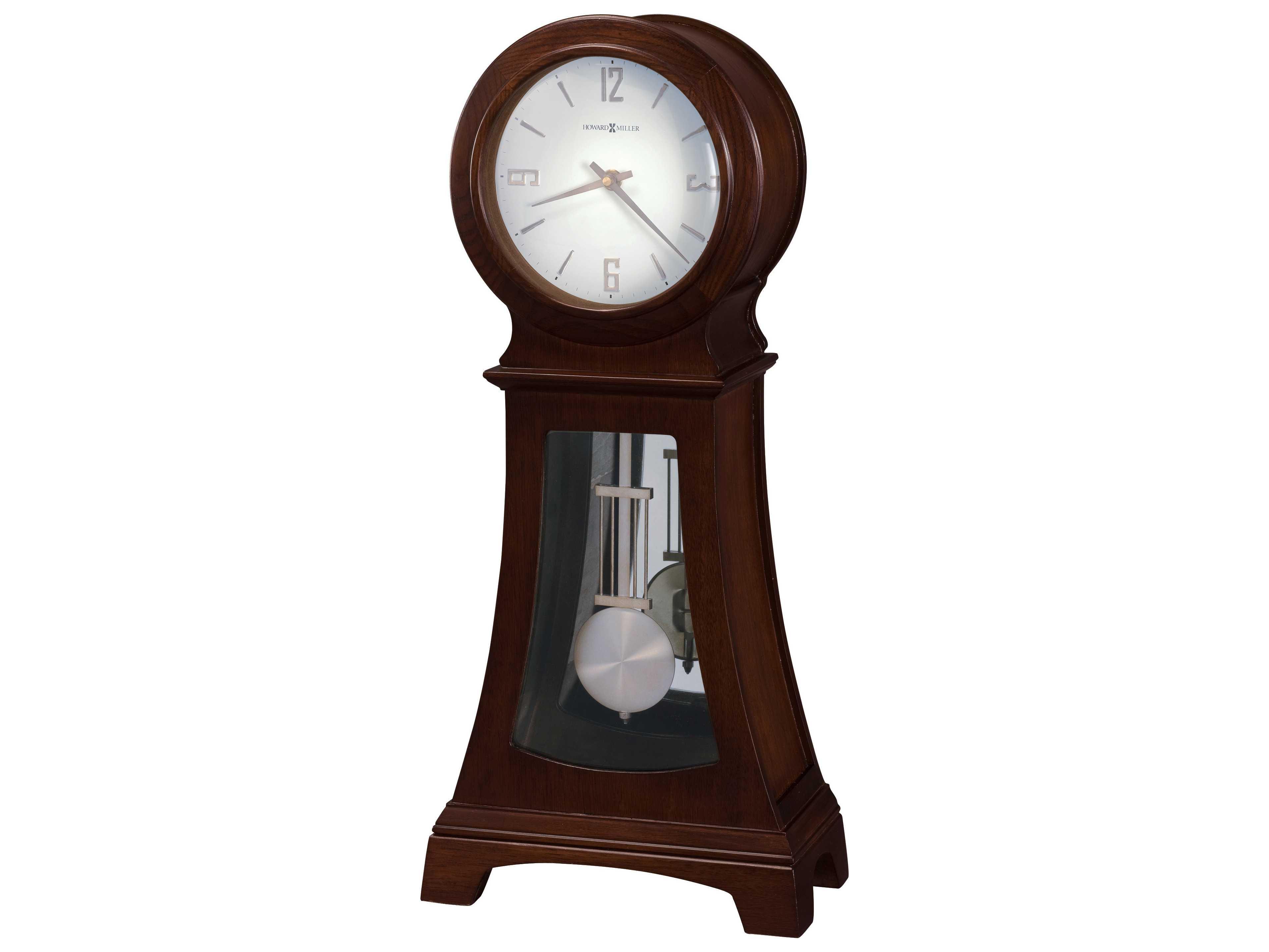 Howard Miller Gerhard Mantel Chocolate Sofa Table Clock How635164