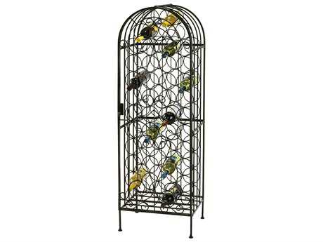 Howard Miller Arbor Warm Gray Wine Rack