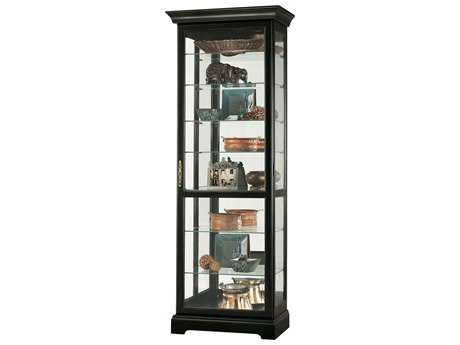 Howard Miller Chesterfield III Antique Black Curio Cabinet
