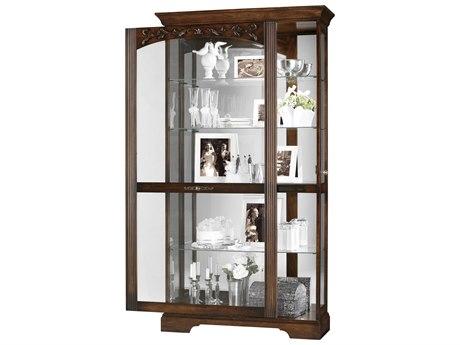 Howard Miller Hartland Hampton Cherry Curio Cabinet