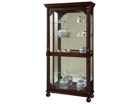 Howard Miller Canyon Tobacco Curio Cabinet