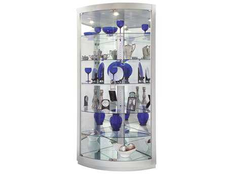 Howard Miller Gillian II Silver Curio Cabinet